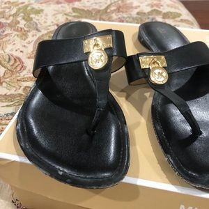 Pre loved authentic MK sandals.